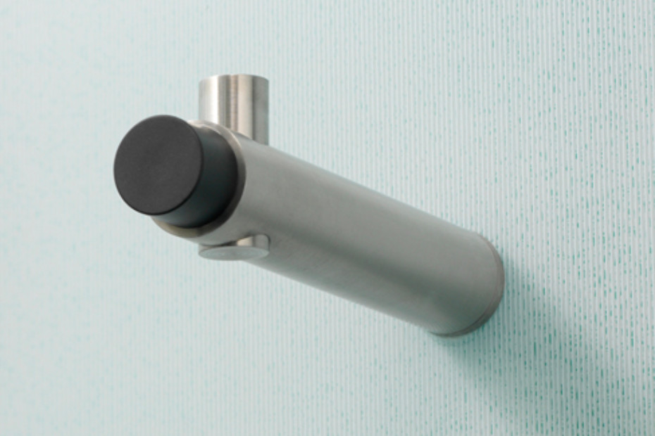 Wandhaken H 20-100 TS mit Türstopper