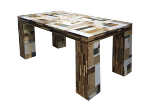 Scrapwood Table  by  PIET HEIN EEK