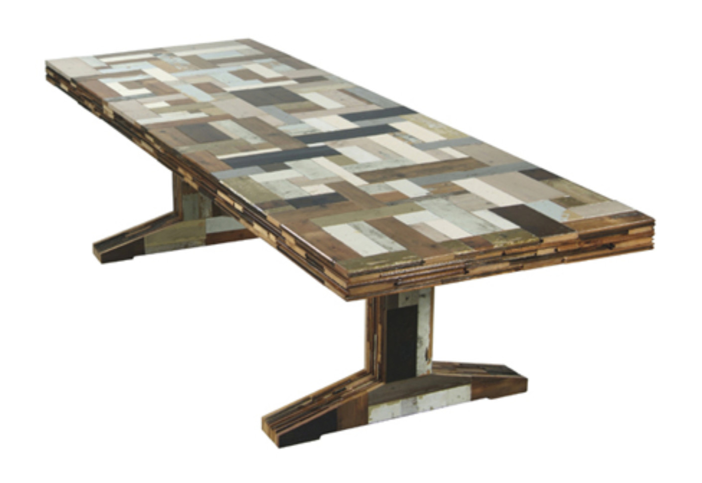 Waste Scrapwood Table By Piet Hein Eek Stylepark