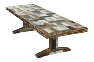 Waste Scrapwood Table  by  PIET HEIN EEK