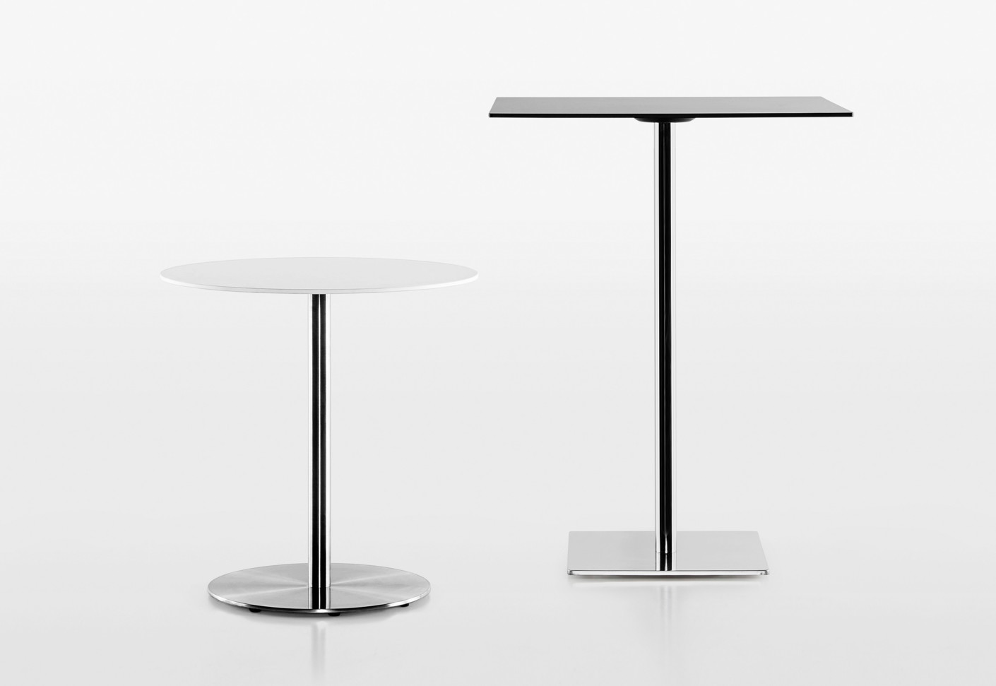 Slim cocktail table by plank stylepark for Narrow cocktail table