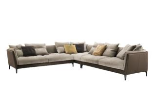 Bretagne corner Sofa  by  Poltrona Frau