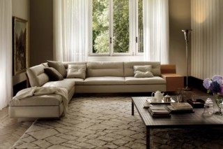 Grantorino 3-Sitzer Eck-Sofa  von  Poltrona Frau