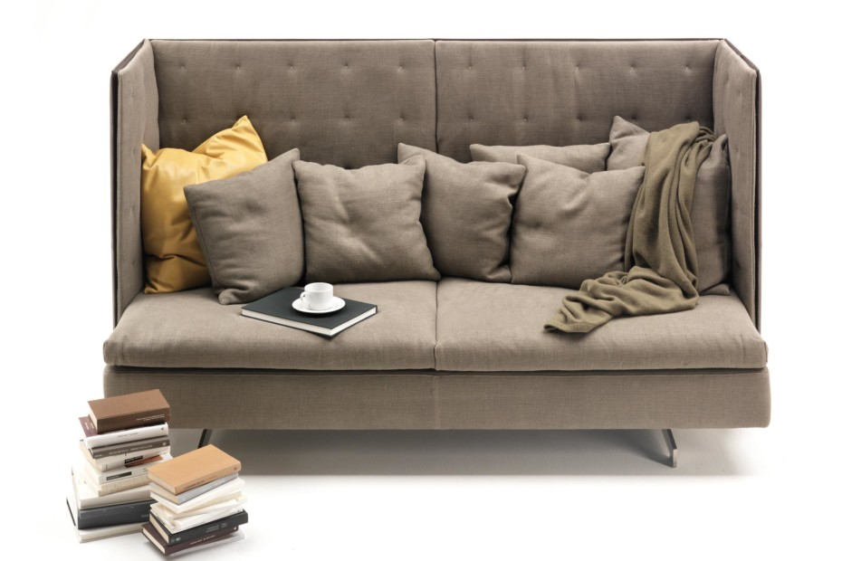 Grantorino high-back sofa