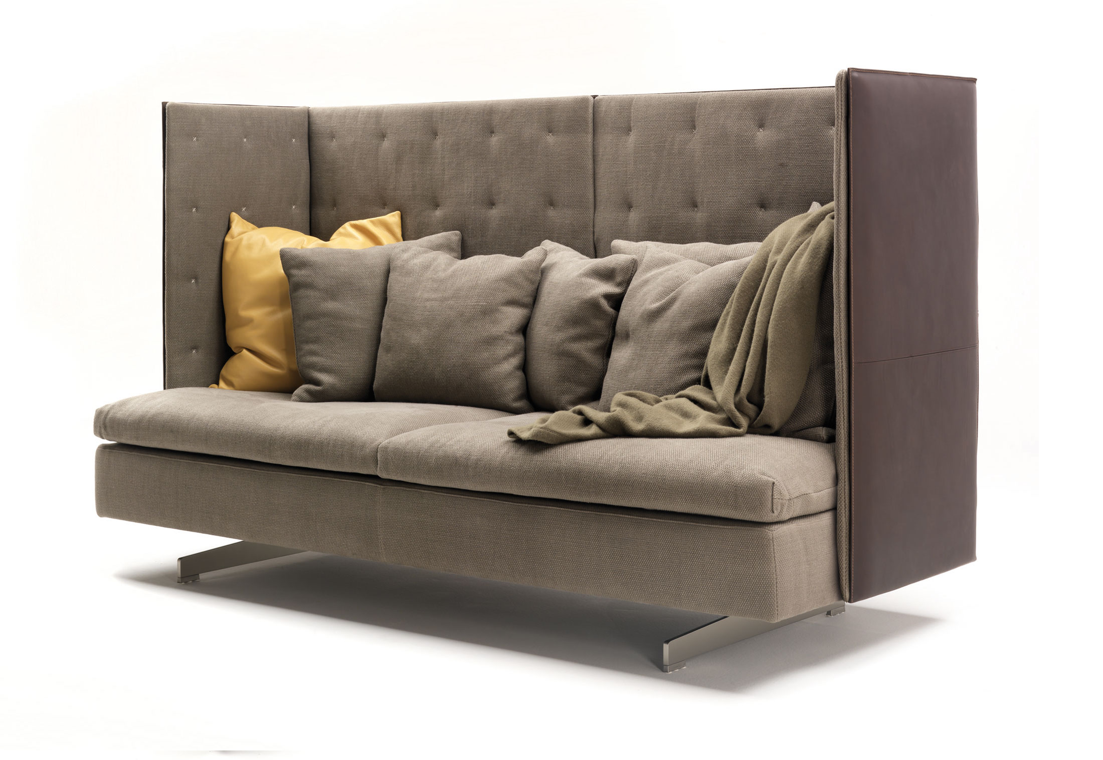 Grantorino High-back Sofa By Poltrona Frau