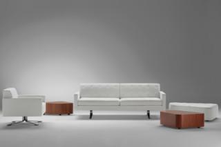 Kennedee 2-seater  by  Poltrona Frau