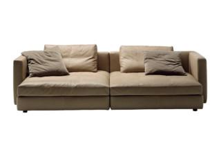 Massimosistema 2-Sitzer lang  von  Poltrona Frau