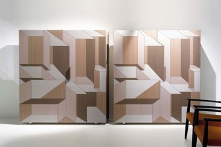 Inlay Highboard  by  Porro