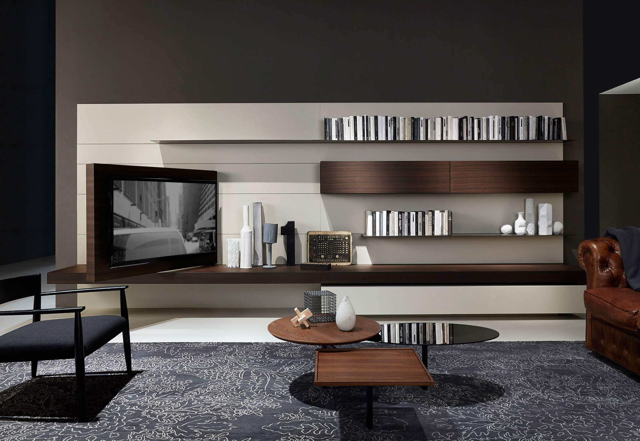 Modern Hifi modern living tv hi fi by porro stylepark