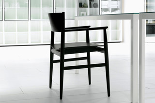 Neve with armrests  by  Porro