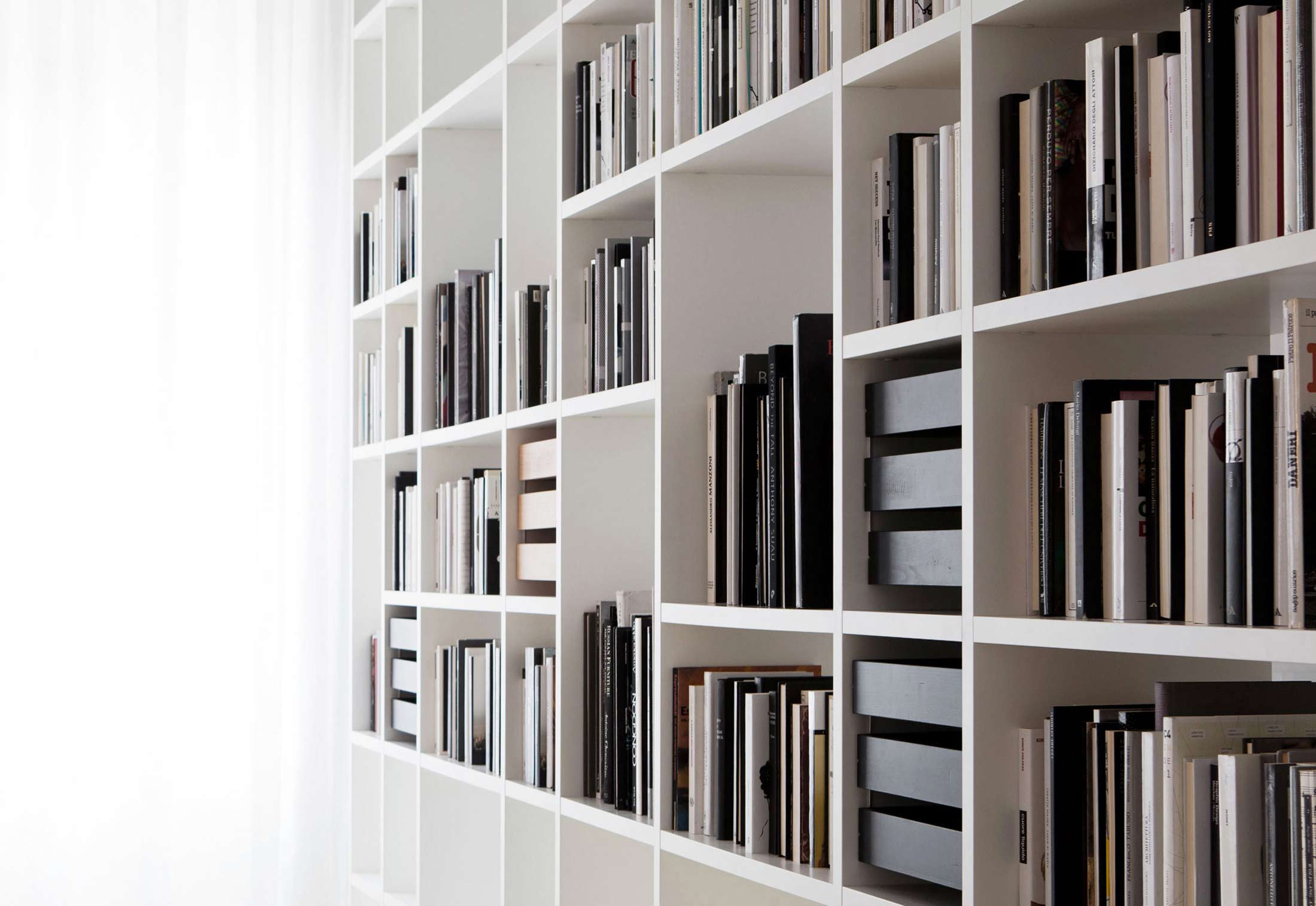 system interparete von porro stylepark. Black Bedroom Furniture Sets. Home Design Ideas