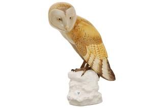Barn owl No.158  by  Porzellan-Manufaktur Nymphenburg