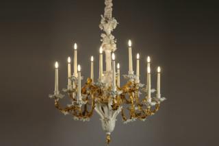 Barocker Lüster  von  Porzellan-Manufaktur Nymphenburg