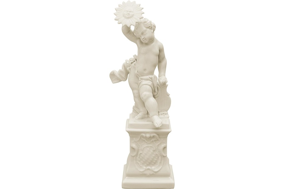 Cherub as Apollo on pedestal No.346a