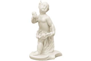 Cherub as Flora No.417  by  Porzellan-Manufaktur Nymphenburg