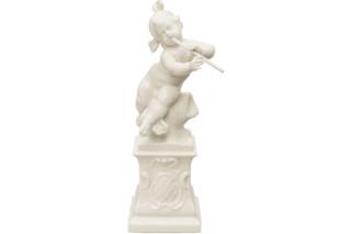 Putto Hermes auf Postament Nr.267a  von  Porzellan-Manufaktur Nymphenburg
