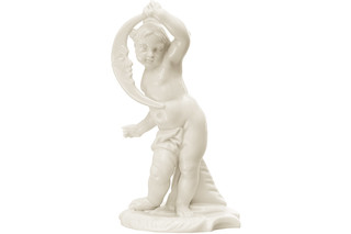 Putto Luna Nr.347  von  Porzellan-Manufaktur Nymphenburg