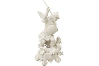Putto mit Drache Nr.934  von  Porzellan-Manufaktur Nymphenburg