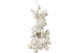 Cherub with dragon No.934  by  Porzellan-Manufaktur Nymphenburg