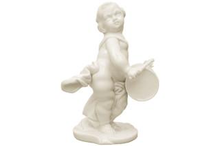Putto mit Trommel Nr.420  von  Porzellan-Manufaktur Nymphenburg