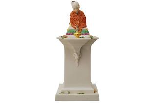 Chinese bigwig on pedestal No.331  by  Porzellan-Manufaktur Nymphenburg