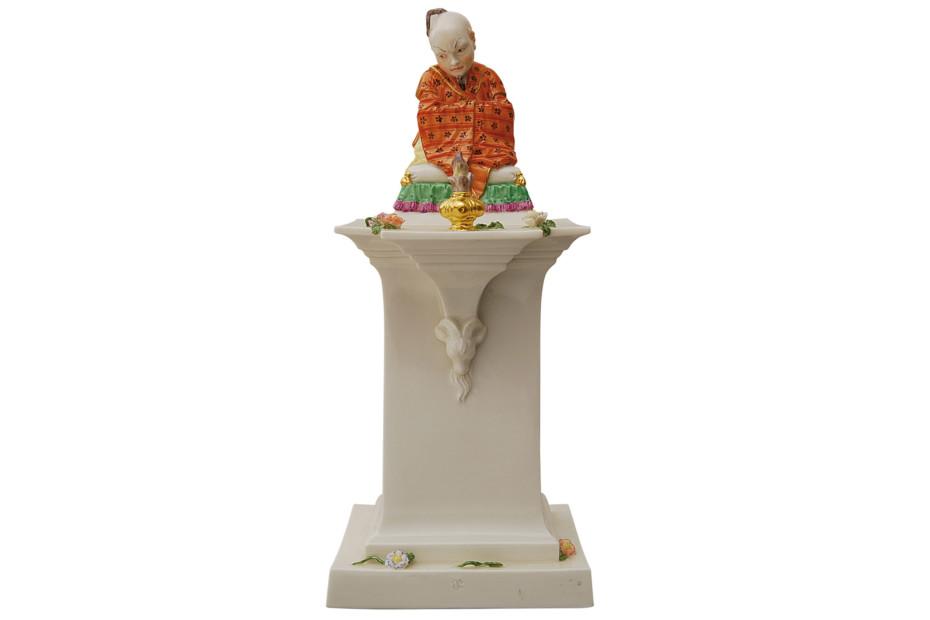 Chinesischer Bonze auf Sockel Nr.331