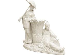 Chinesengruppe Nr.1033  von  Porzellan-Manufaktur Nymphenburg