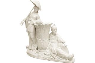 Chinese group No.1033  by  Porzellan-Manufaktur Nymphenburg