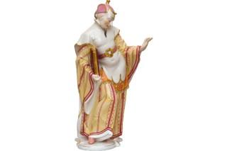 Chinesischer Priester Nr.77  von  Porzellan-Manufaktur Nymphenburg