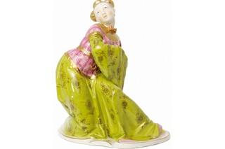 Chinese woman No.380  by  Porzellan-Manufaktur Nymphenburg