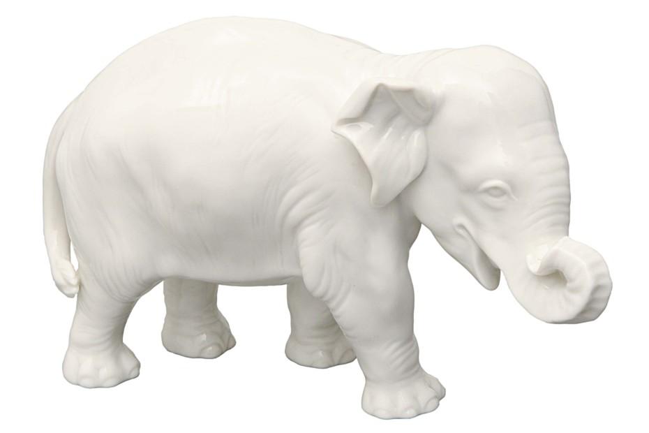 Elefant Nr.877b weiß
