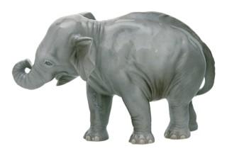 Elefant Nr.877b  von  Porzellan-Manufaktur Nymphenburg