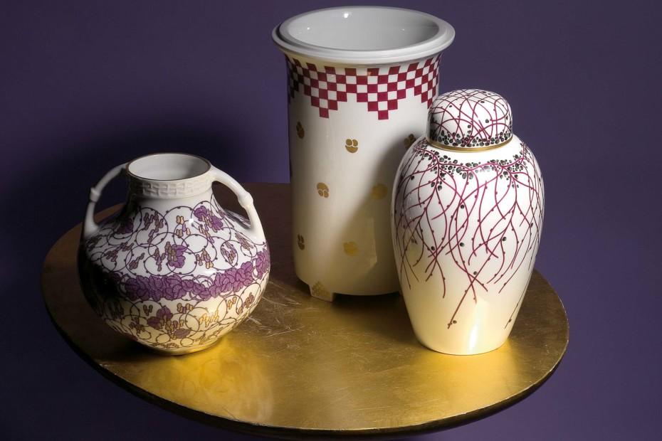 Nymph vase