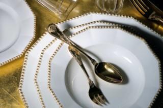 Perl Gold  by  Porzellan-Manufaktur Nymphenburg