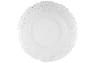 Plate with broken rim  by  Porzellan-Manufaktur Nymphenburg