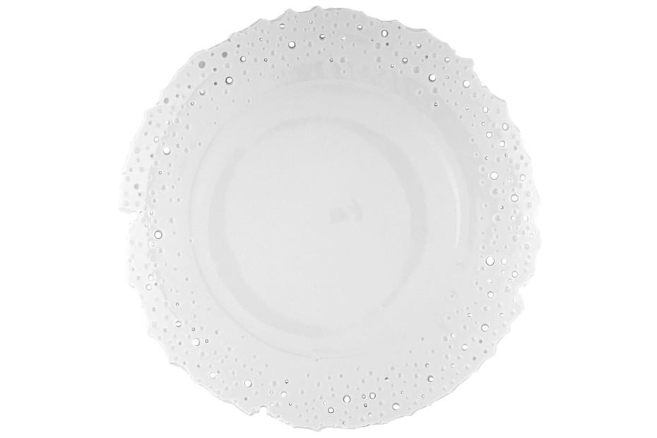 Plate with broken rim