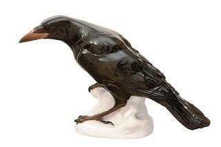 Raven No.302  by  Porzellan-Manufaktur Nymphenburg