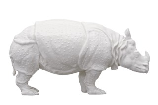 Rhinoceros No.1826Q  by  Porzellan-Manufaktur Nymphenburg
