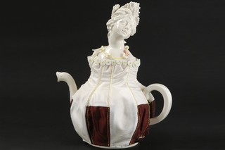 Summer - teapot  by  Porzellan-Manufaktur Nymphenburg