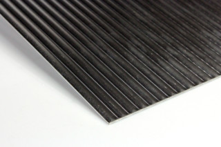 915 Half round slat lengthwise 6 mm  by  PREFA DESIGN