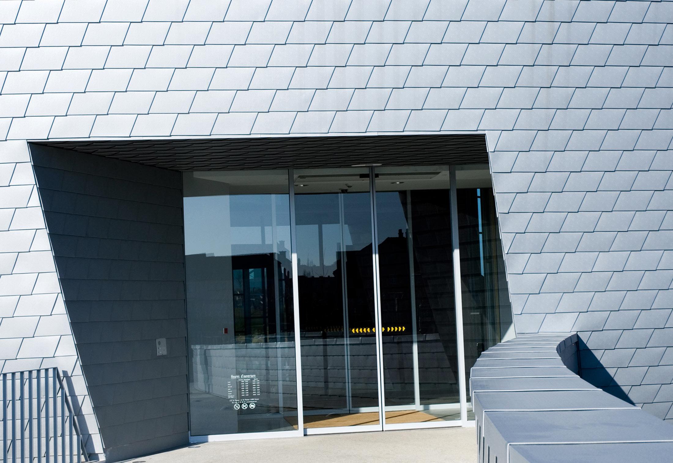 Roof And Facade Shingles Zinc Grey By Prefa Stylepark