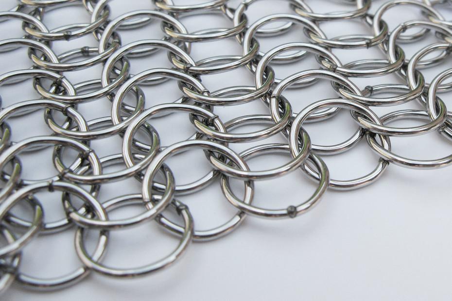 alphamesh 12.0 stainless steel polished