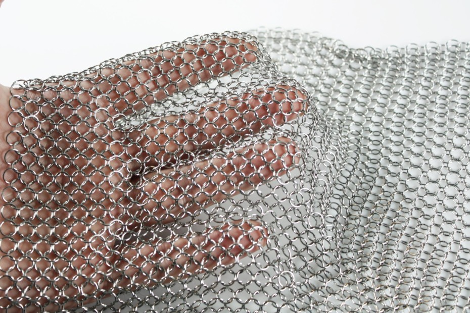 alphamesh 7.0 stainless steel polished