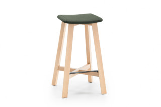 Bevel bar stool  by  Punt