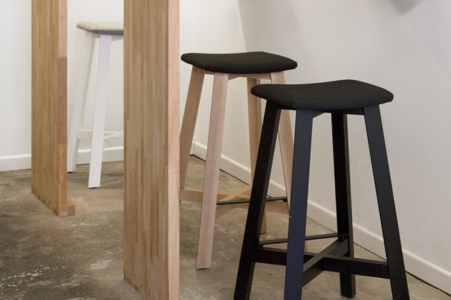 Bevel bar stool