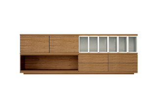 Slats sideboard  by  Punt