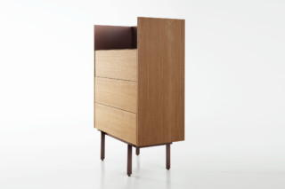 Stockholm high chest of drawers  by  Punt