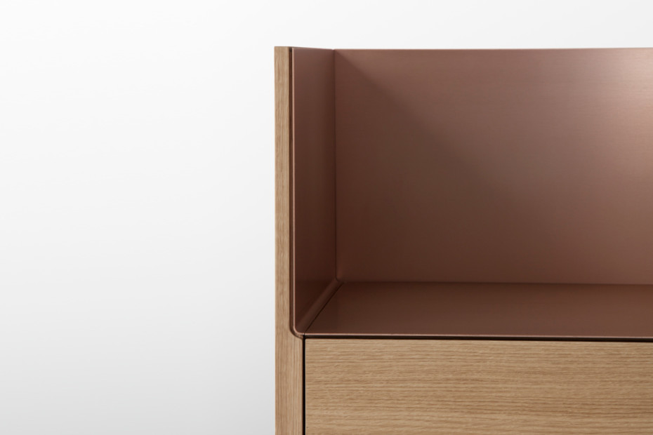 Stockholm high chest of drawers