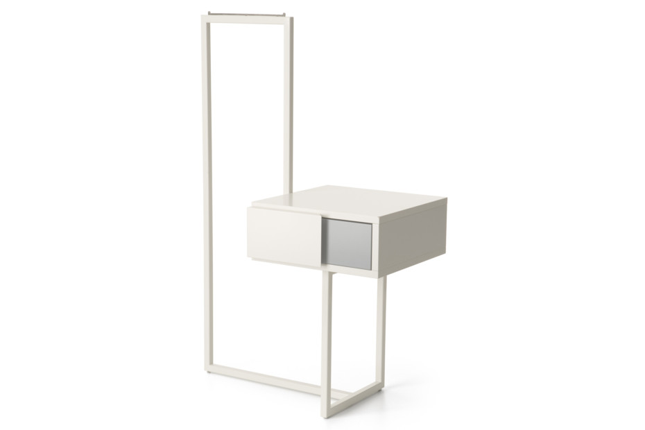 Teca bedside table