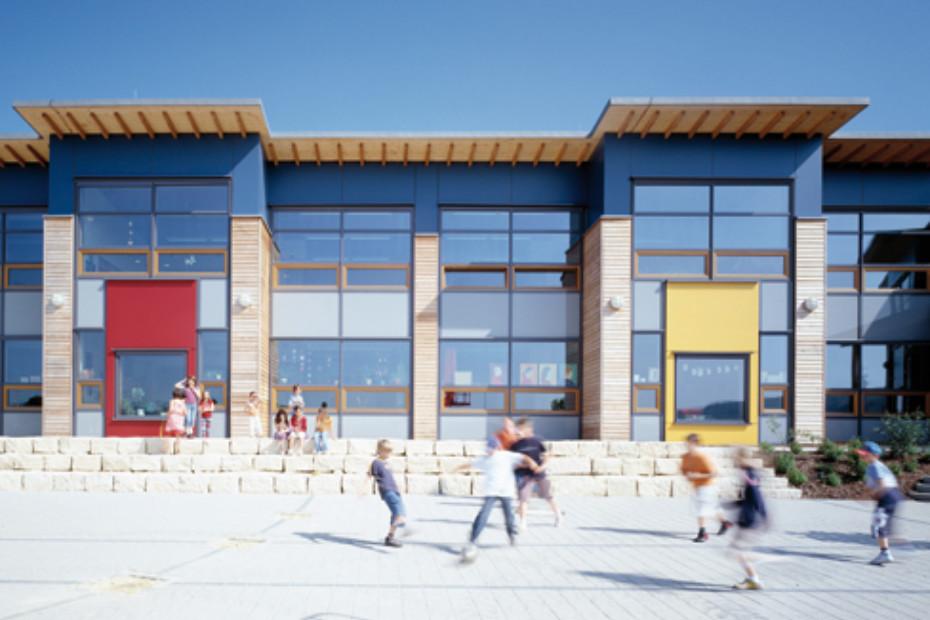 RAICO THERM+ H-I, Passive-house school, Roodt